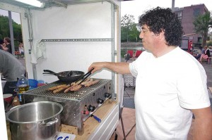 Front-Cooking, Salsiccia grillen