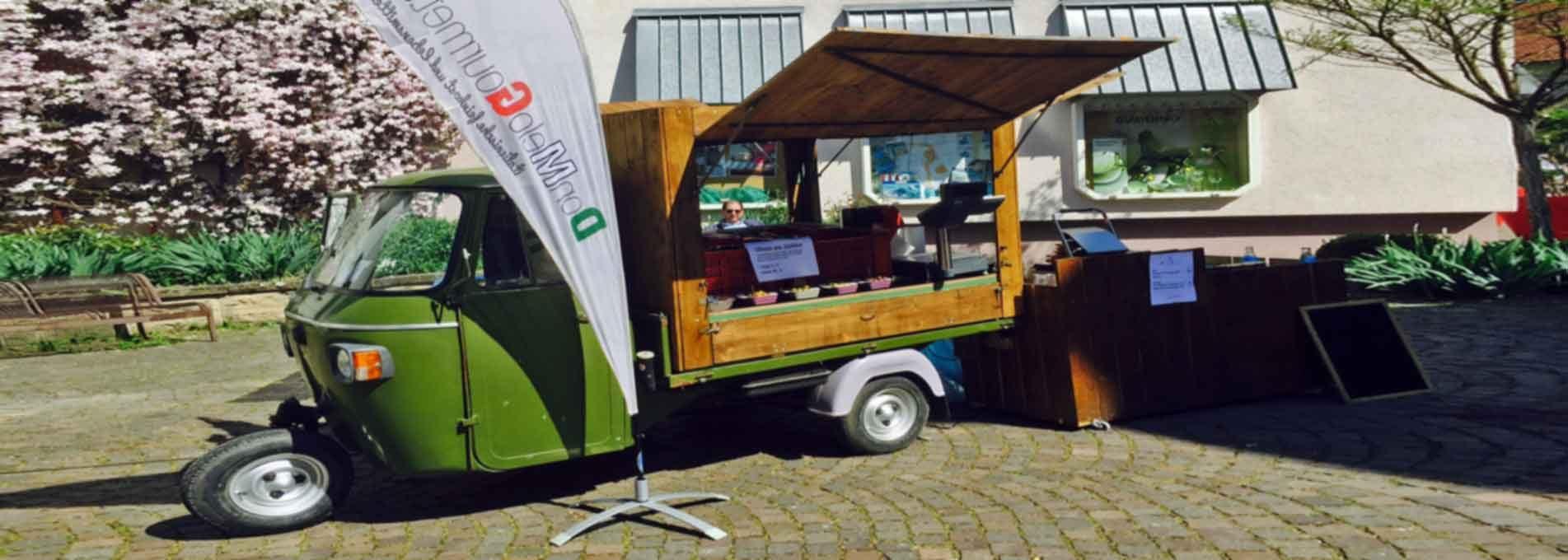 APE - Street-Food-Mobil