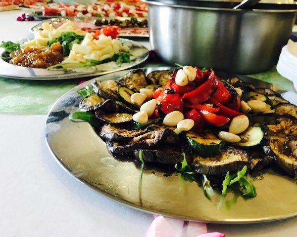 Vegetarisches Catering - Antipasti