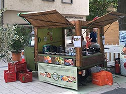 Ape Food-Truck