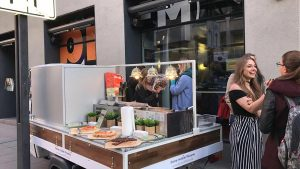 Mobile Pizzeria bei bigFM