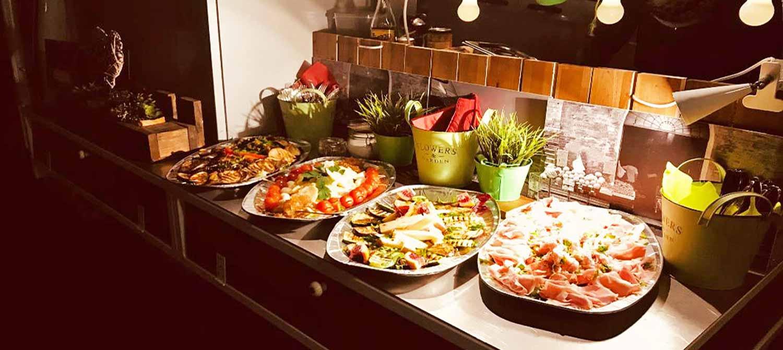 Italienisches Catering - Antipasti